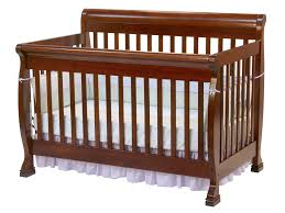 Infant Convertible Cribs Davinci Kalani 4 In 1 Convertible Baby Crib In Cherry W Toddler