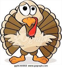 turkey clip clipart illustration of a turkey