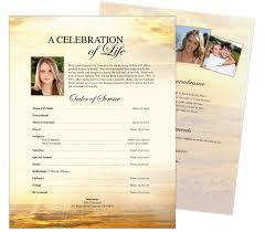 memorial programs funeral flyer 10 best funeral memorial stationary flyer sheets