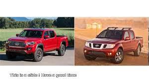 nissan tacoma truck nissan frontier vs toyota tacoma youtube