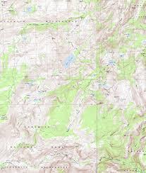 Lake Pleasant Map Stubblefield Canyon Backpacking Map To Bensen Lake North Yosemite