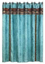Southwestern Style Curtains Southwestern Style Curtains Shower Curtain In Blue Southwestern