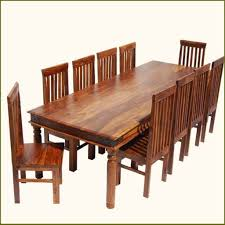 9 pc square dinette dining room table set and 8 chairs dining