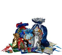 kringle express 74 ez drawstring gift bag set with tags