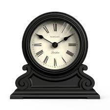 desk clock newgate writing desk clock black