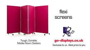 flexi screen mobile partition system temporary office partitions