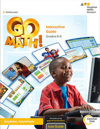 go math elementary and middle math curriculums
