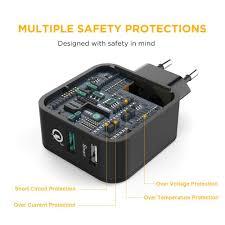 Schlafzimmer Anna Lipo Easyacc 30w Ladegerät 2 Port Smart Adapter Mit Amazon De Elektronik