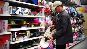 shopping for worst skateboard on earth