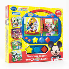 Mickey Mouse Clubhouse Bedroom Set My First Story Reader Book Set Mickey Mouse Clubhouse Toys
