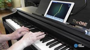 keyboard that lights up to teach you how to play smart piano that teaches you to play made music to my ears