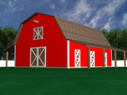 Red Barn Boarding Horse Shelter Horse Space Needs