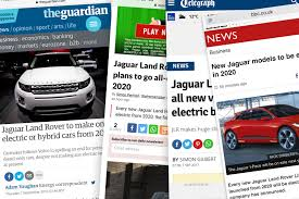 volvo email what jaguar land rover really announced on electrified cars autocar