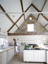 How Do I Design A Kitchen Ask A Designer How Do I Design Around A Pitched Ceiling