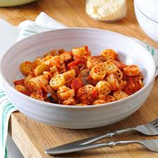 pizza flavored pasta sauce recipe taste of home