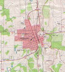Georgetown Map Texas City Maps Perry Castañeda Map Collection Ut Library Online