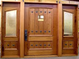 Solid Wooden Exterior Doors Solid Wood Exterior Doors With Glass Cleaning Your Solid Wood