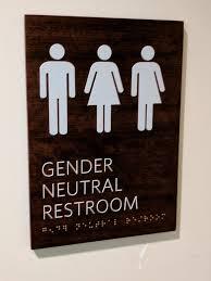 Gender Neutral Bathroom Signs - 25 beste ideeën over gender neutral bathroom signs op pinterest