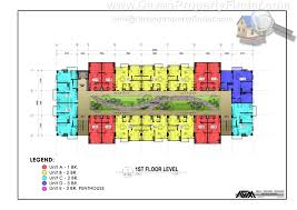 the enclaves residences level floorplan davao property finder
