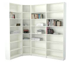 White Corner Bookcase Ikea Corner Bookcase Ikea White Corner Bookcase With Adjustable Shelves