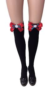 knee high halloween socks lingerie factory flower kit lingerie