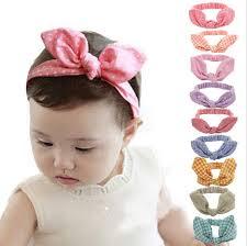 hair bows for babies newborn hair bow bebes bandeau turban new knotted headband bunny
