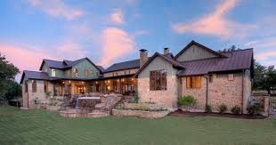 Hill Country Farmhouse - Texas hill country home designs