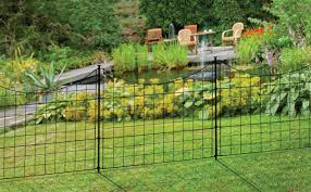 black temporary fencing for dogs