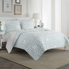 home 100 cotton reversible quilt set by