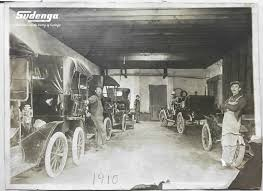 the ford agency in the early 1900s george and philip sudenga added a ford