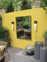 yellow garden ideas walls furniture or plants wall arafen