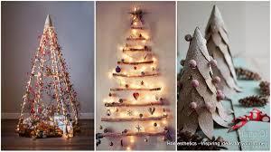 unusual christmas trees ribbon tree creative and unusual