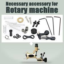 23 kind 46pcs tattoo supplies rotary tattoo machine spare parts