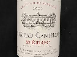 chateau blaignan medoc prices wine chateau canteloup medoc 2009 750l pj wine inc