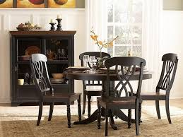 Black Dining Table With Leaf Kitchen Table Dining Room Tables Black Contemporary Dining Table