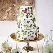 edible leaves for wedding cakes