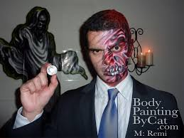 2face remi coin paint bpc 1 u2013 body painting by cat