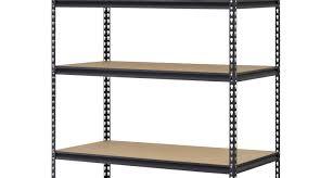 walmart metal shelves shelving 5 shelf metal storage rack pleasing edsal heavy duty 5