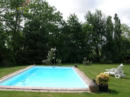 in a nice private garden house with a swimming pool seabrook