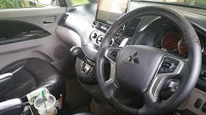 mitsubishi grandis 2013 grandis with new steering wheel mitsubishi forum mitsubishi