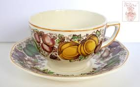 thanksgiving serveware antique english staffordshire china teacup u0026 saucer barker brothers th
