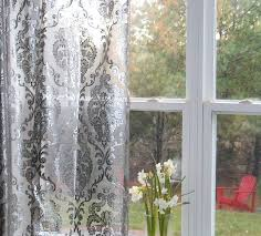 Sheer Metallic Curtains 21 Best Sheer Scarf Curtain Images On Scarf Curtains