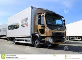 volvo heavy duty trucks volvo fl512 delivery truck editorial stock photo image 39814518