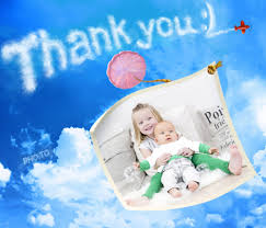 make a personalized thank you photo card online u0026 for free
