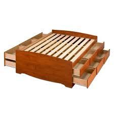 Queen Size Storage Platform Bed Plans by Bed Frames Platform Bed Frame With Storage Best Queen Bed Frames