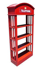Amazon Com D Art Collection Mahogany London Telephone Bookcase
