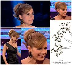 darcey bussell earrings strictly come darcey bussell wedding hair accessories