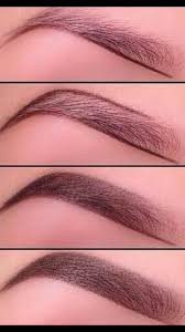 proper way to fill in eyebrows the proper way to fill in eyebrows makeup everything pinterest