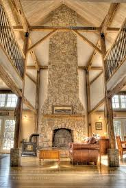 barn home interiors i homes like this exposed wooden beams and stonework