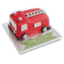 firetruck cakes engine cake waitrose